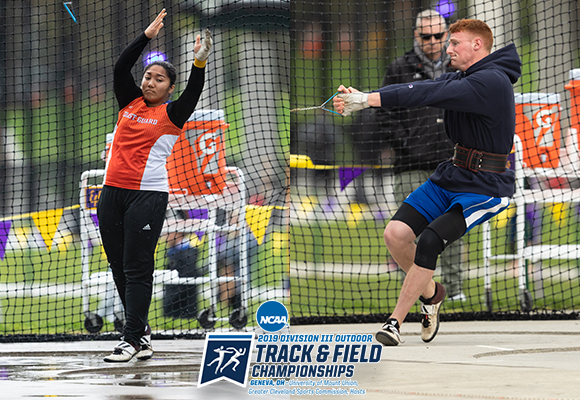 Salang and Zarlengo Open Day One of NCAA Championships