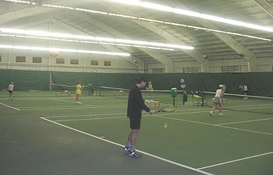 Indoor Tennis Courts at SU