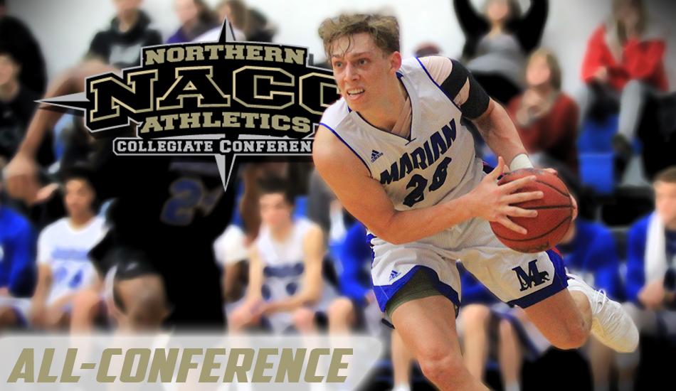Alex Manhardt All-Conference graphic.