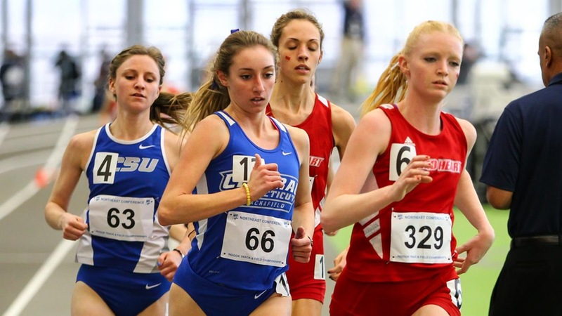 Women's Indoor Track Competes at Joe Donahue Games