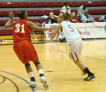 Women's Basketball Team Picked Fifth in CACC Pre-Season Poll