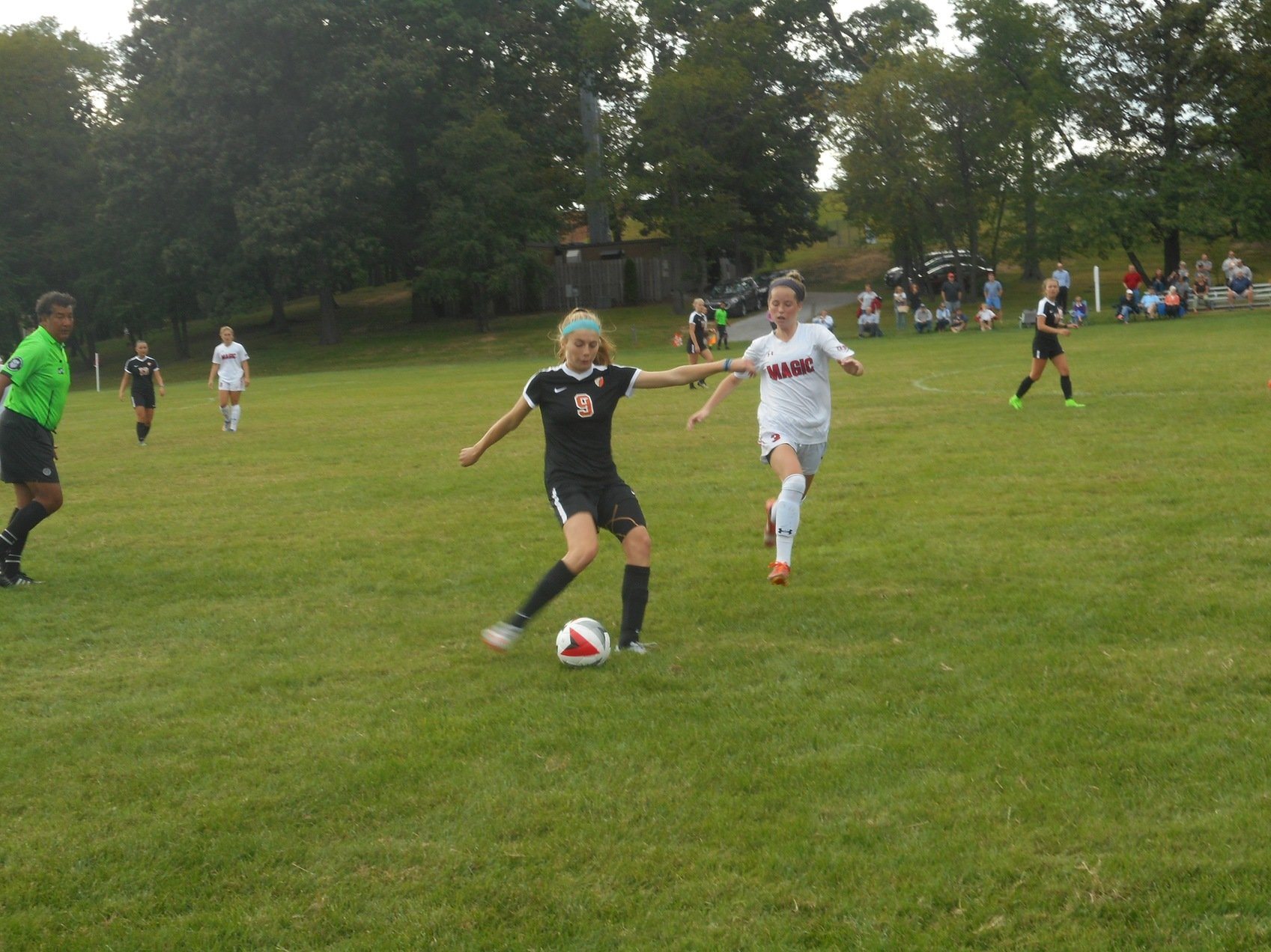 A Conference soccer opener goes to McDonogh over Mercy