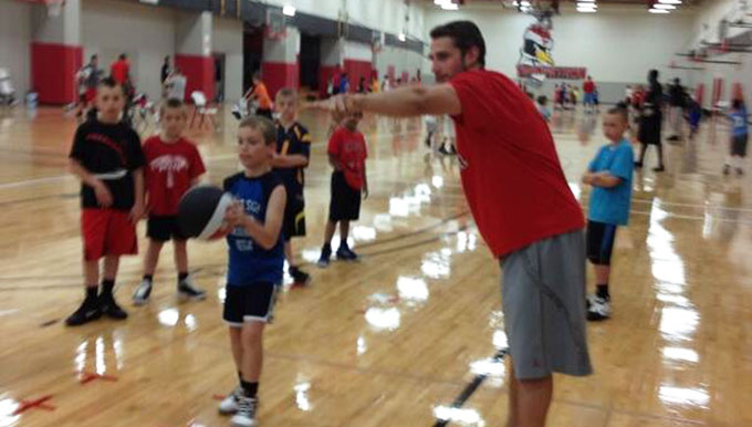 Men's Basketball Boasts Record-Breaking Camp Numbers