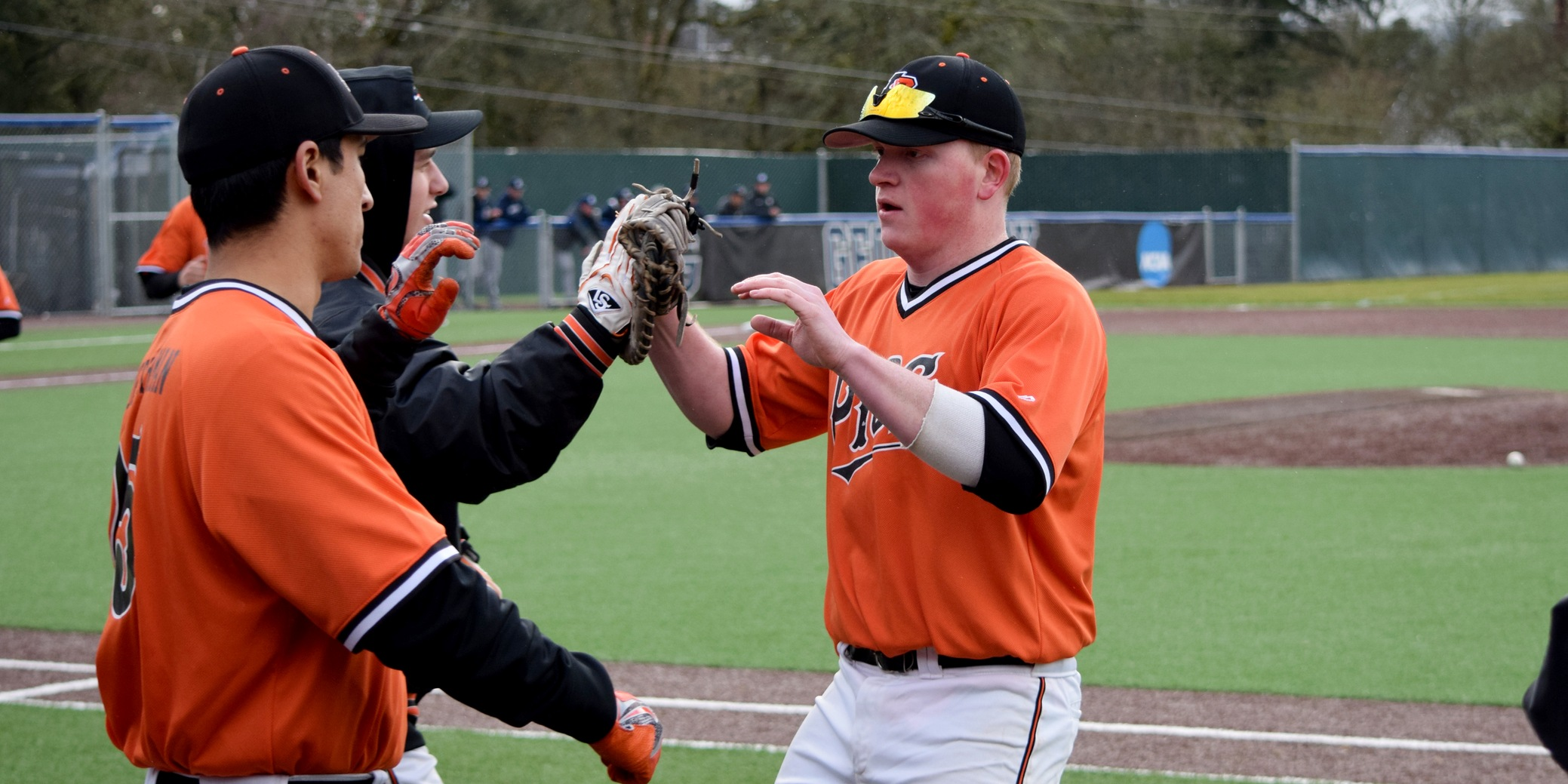 Pios win first NWC series over George Fox