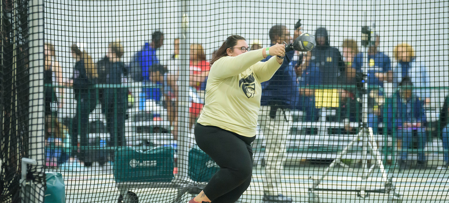 Copeland Posts Career-Best at Clemson's Track and Field Opener