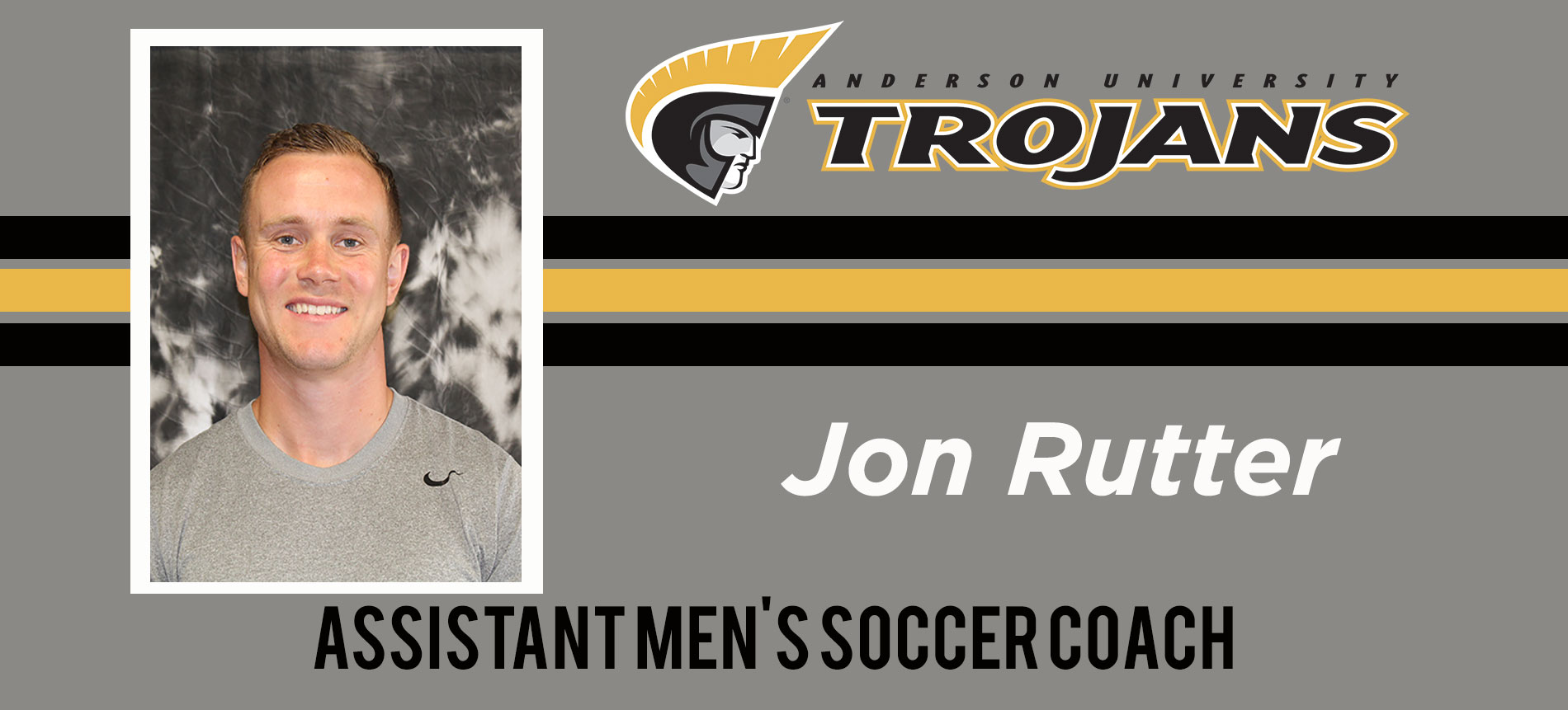 Rutter Named Men's Soccer Assistant Coach