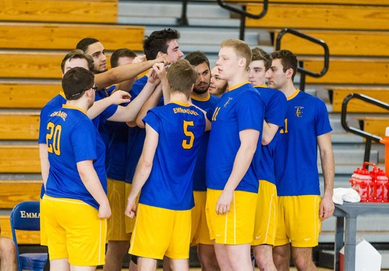 MEN'S VOLLEYBALL CLINCHES HOME PLAYOFF MATCH WITH 3-1 WIN OVER MOUNT IDA