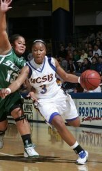 Gauchos Can't Keep Up With Michigan State in Second Half, Fall 69-45