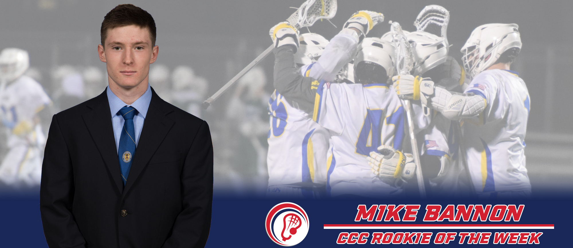 Mike Bannon Named CCC Rookie of the Week
