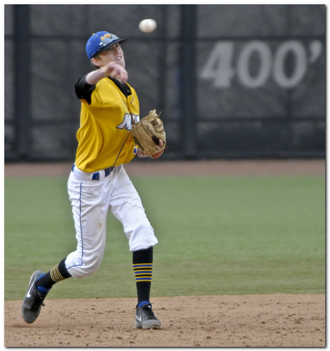 Lions' baseball team upended in home game by Hanover, 5-3