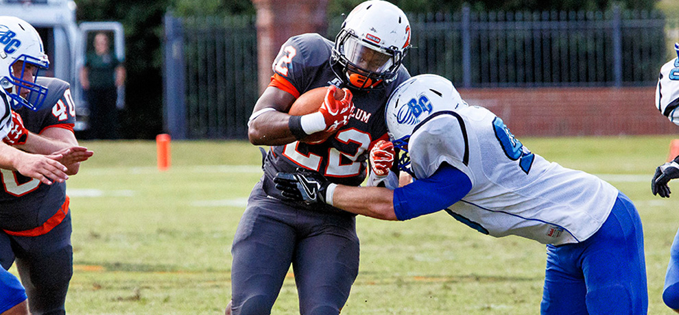 Late touchdown gives Tusculum 21-14 win over Brevard