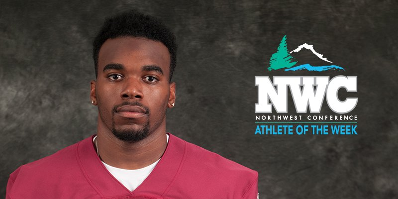 Brickous is Selected as NWC Football Defensive Student-Athlete of the Week
