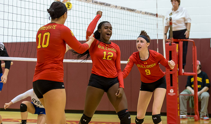 Ferris State Pulls Out Five-Set Triumph In Ohio For Sixth-Straight Victory