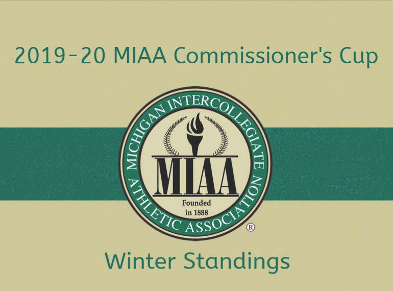 2019-20 MIAA Commissioner's Cup Standings Through Winter Competition