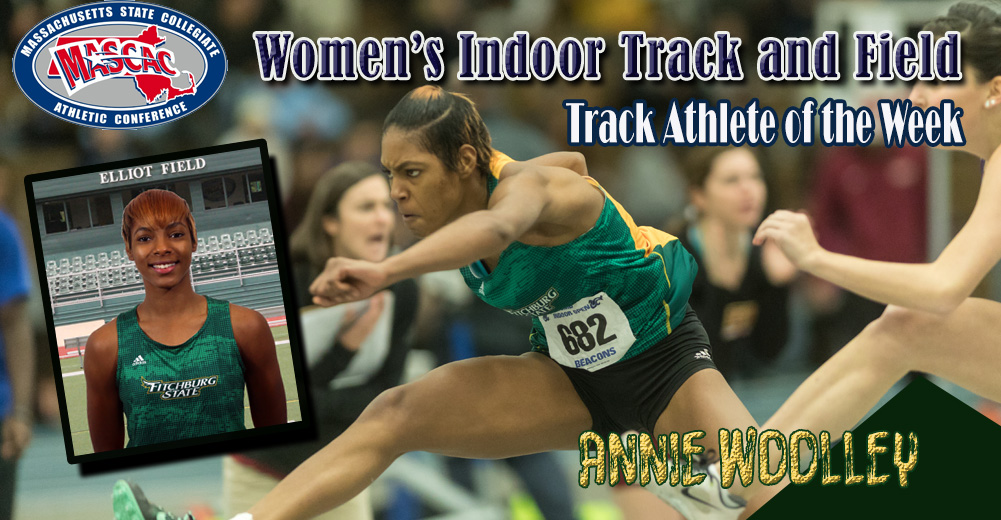 Woolley Tabbed MASCAC Women's Indoor Track Athlete Of The Week