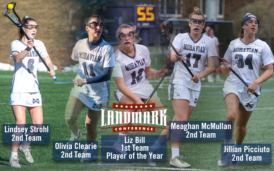 Five Greyhounds named to Landmark Women's Lacrosse All-Conference Teams.
