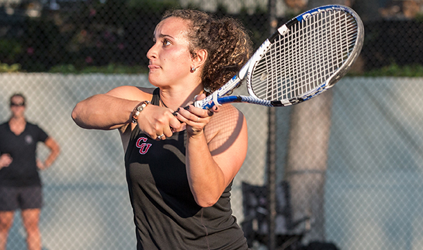 Women's Tennis Opens Season With 5-4 Win Over Sharks