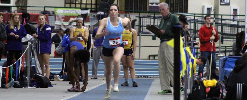 Lasers Open Indoor Season at UMass Boston Invitational