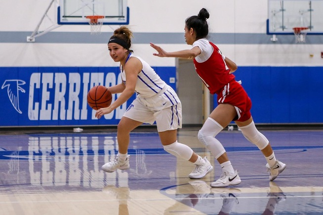 File Photo: Mariah Lora scored all eight of her points in the fourth quarter