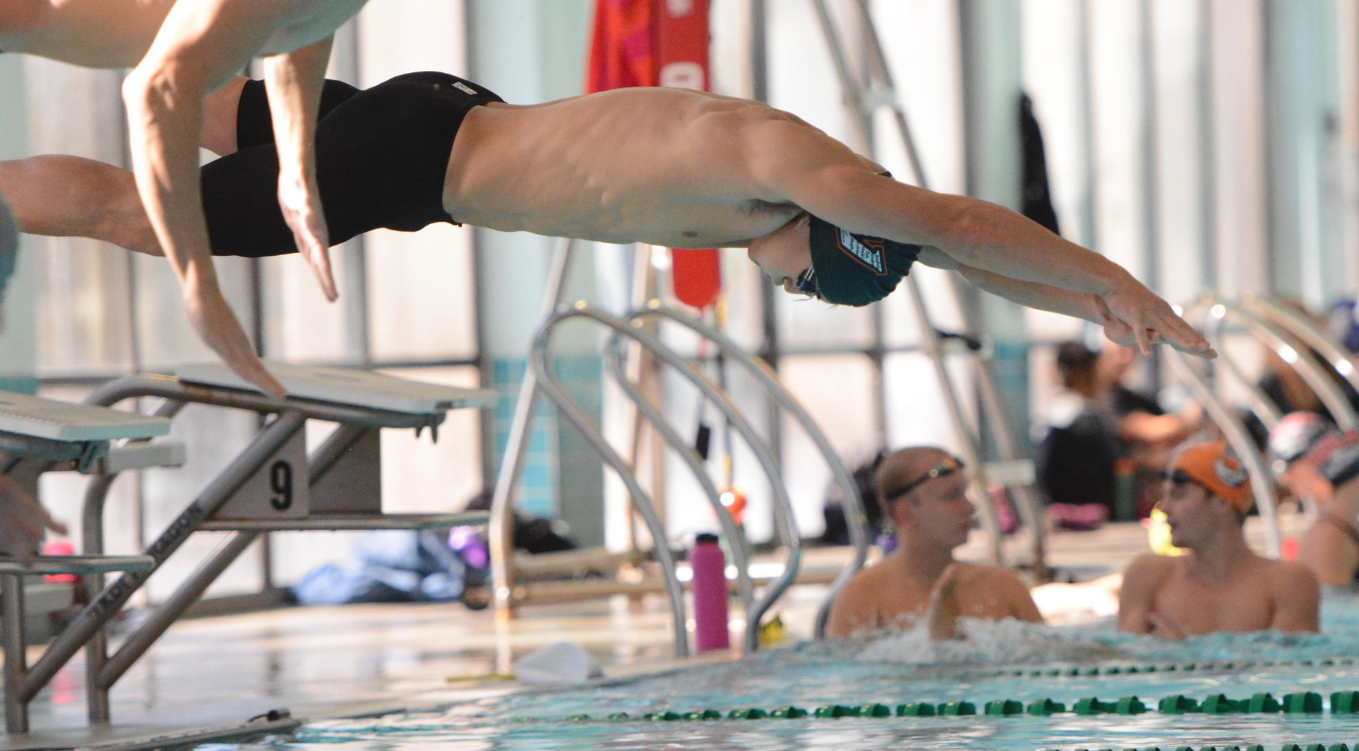 Swimming & Diving sweep Chapman, Caltech