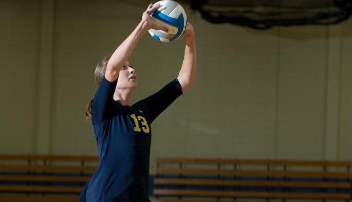 Volleyball Starts Season 2-2; Will Play Viterbo at Home Wednesday