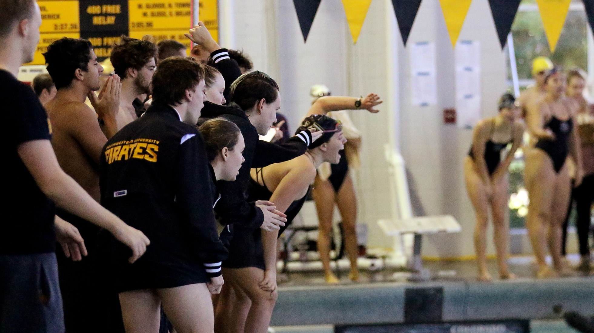 Women's Swimming And Diving Opens Season With Resounding Victory Over Austin College