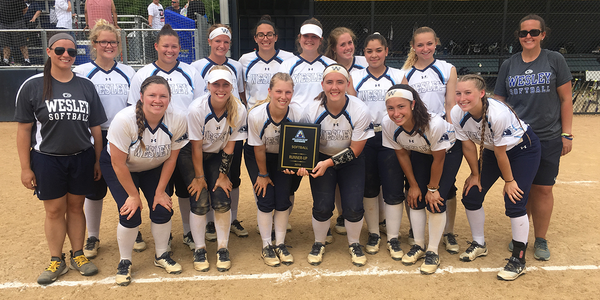 Softball falls in Atlantic East Championship Series to Neumann