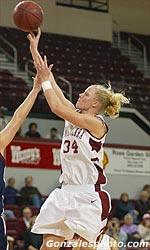 Women's Hoops Falls at Saint Mary's