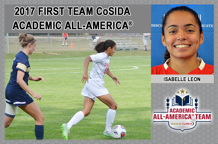 Leon earns First Team Academic All-America® honors