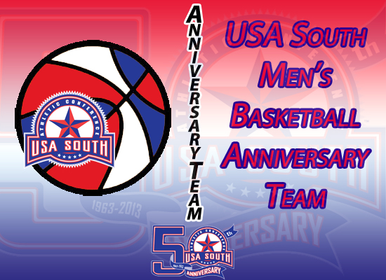 USA South Announces 50th Anniversary Men's Basketball Team