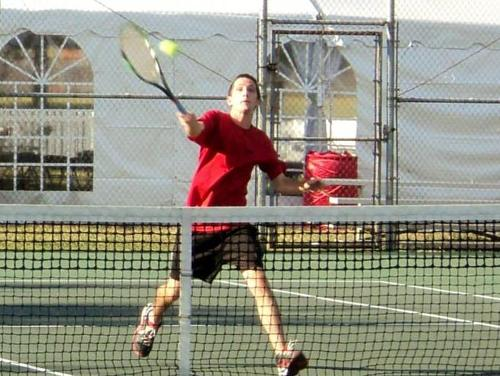 Men's Tennis Drops Conference Opener to Juniata