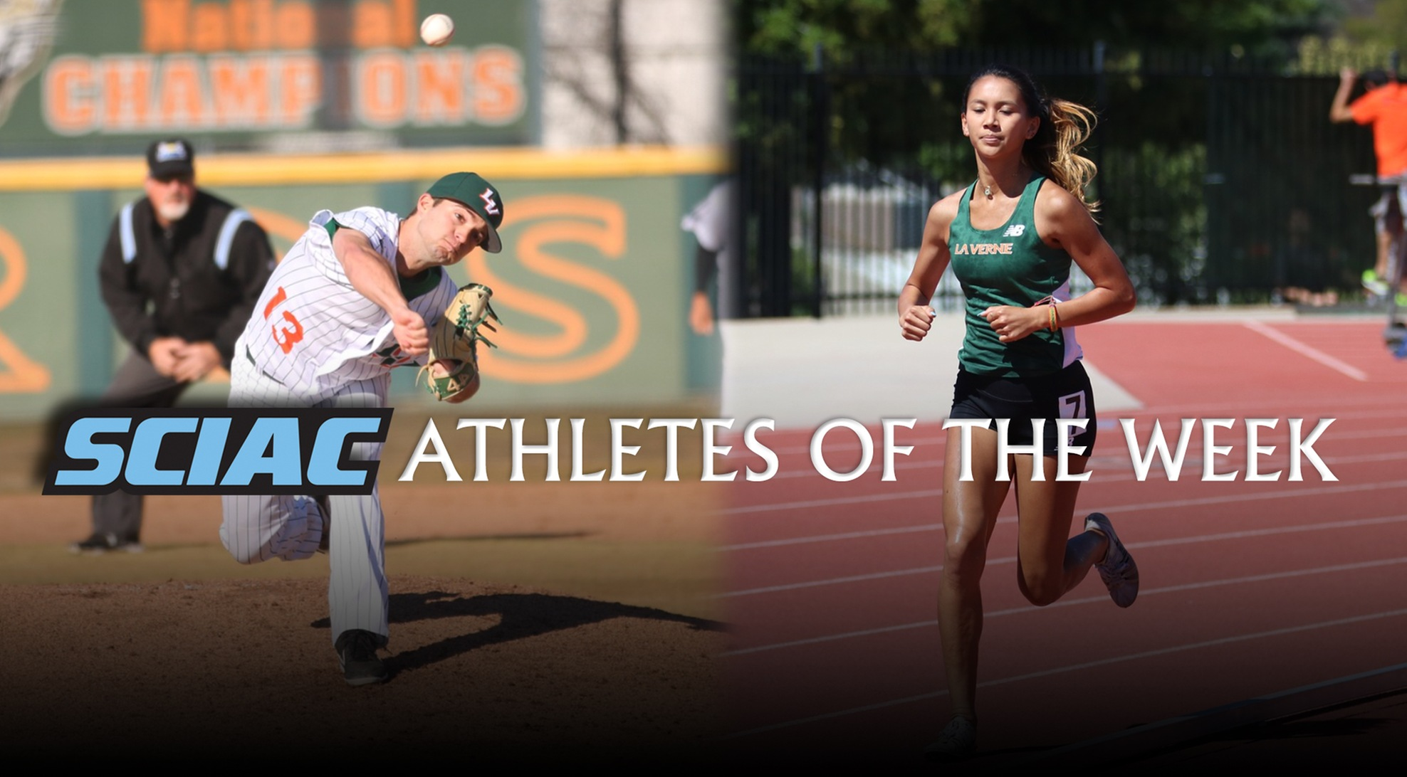 Norman, Cerrillos named SCIAC Athletes of the Week