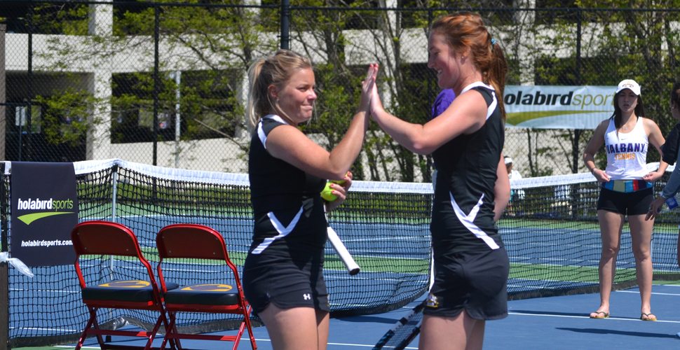 Women's Tennis Celebrates Senior Day With Victory Over Coppin State