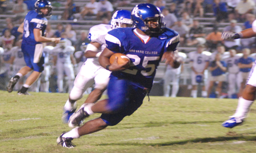RB John Taylor was named to the 2008 Pre-Season All-SAC Seond Team.
