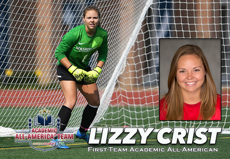 Lizzy Crist of Washington University Selected to Women's Soccer Academic All-America First Team