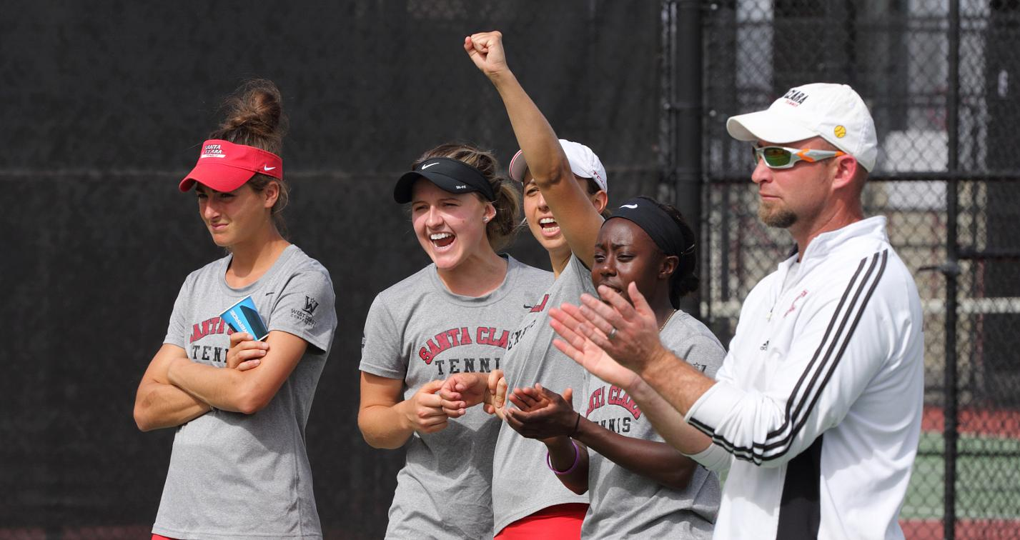 Four Women's Tennis Players Honored for WCC All-Academic Team