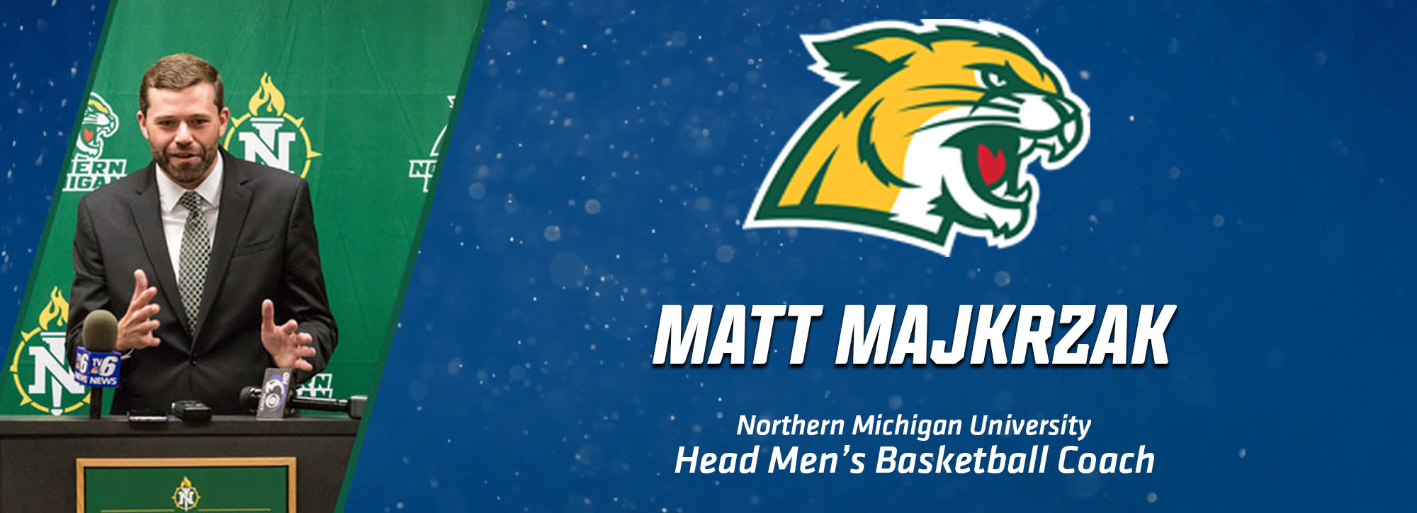 NMU Names Matt Majkrzak as Head Men's Basketball Coach