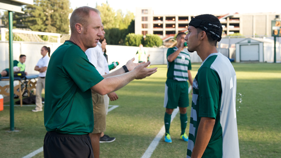 MEN'S SOCCER COACH MCDOUGALL PROMOTED TO ASSISTANT HEAD COACH