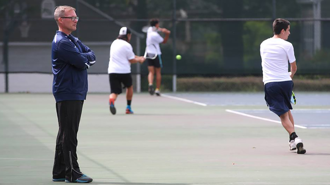 Tennis competes in ITA Fall Regional Championships