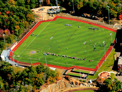Aerial view of North Field