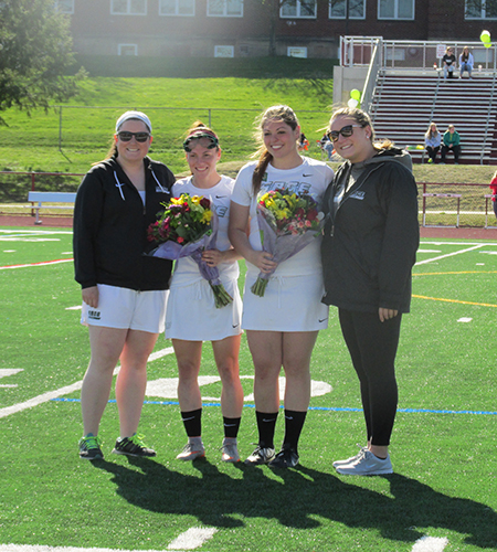 Record setting day for Sage Women's Lacrosse Team on Senior Day as Gators Romp, 20-4