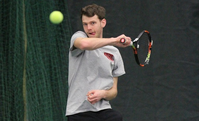 Men's Tennis Posts First Win of the Season at St. Norbert