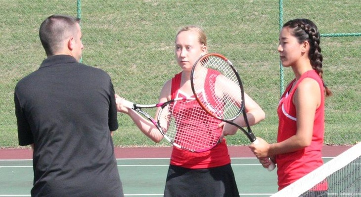 Women's Tennis Blanks Saint Elizabeth On Senior Day