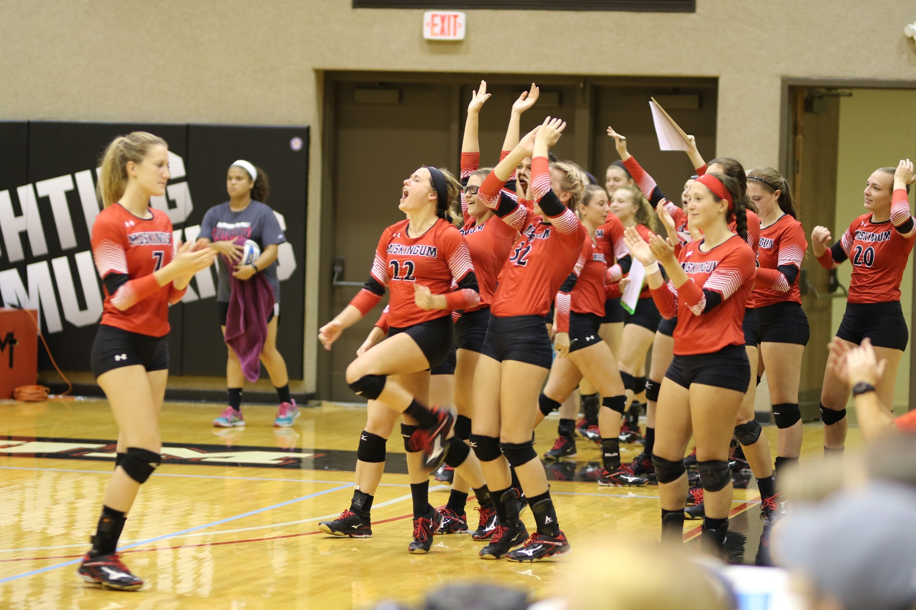 Volleyball Clinches first OAC Victory at Heidelberg