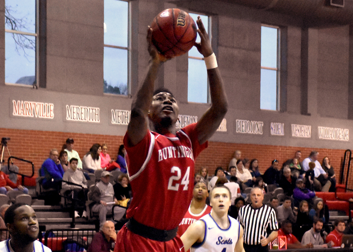 Kyante Pines scored 23 points in Thursday's 70-55 win over Birmingham-Southern.