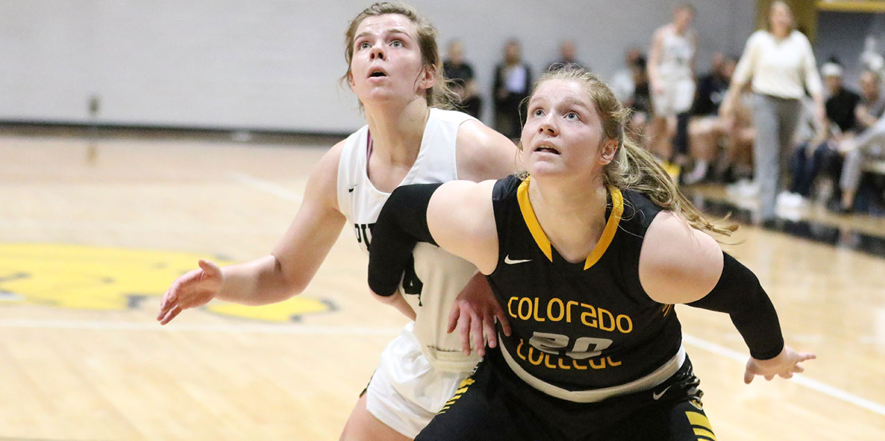 Gertz's Double-Double Propels Colorado College To 62-50 Victory Over Southwestern