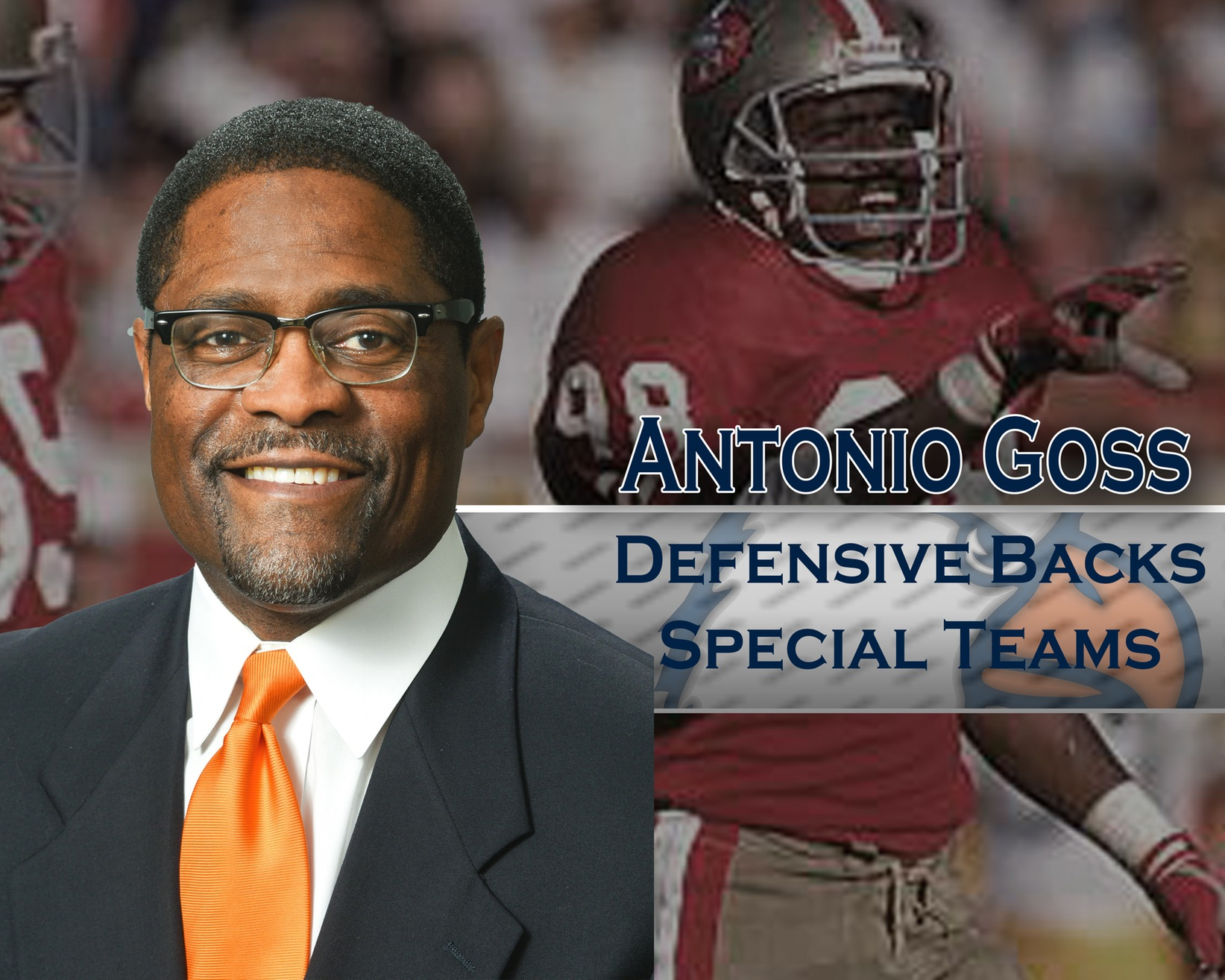 Turner announces Goss as new defensive backs and special teams coach