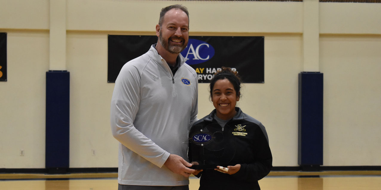 Southwestern's Campos Recognized as SCAC Women's Volleyball Elite 19 Honoree