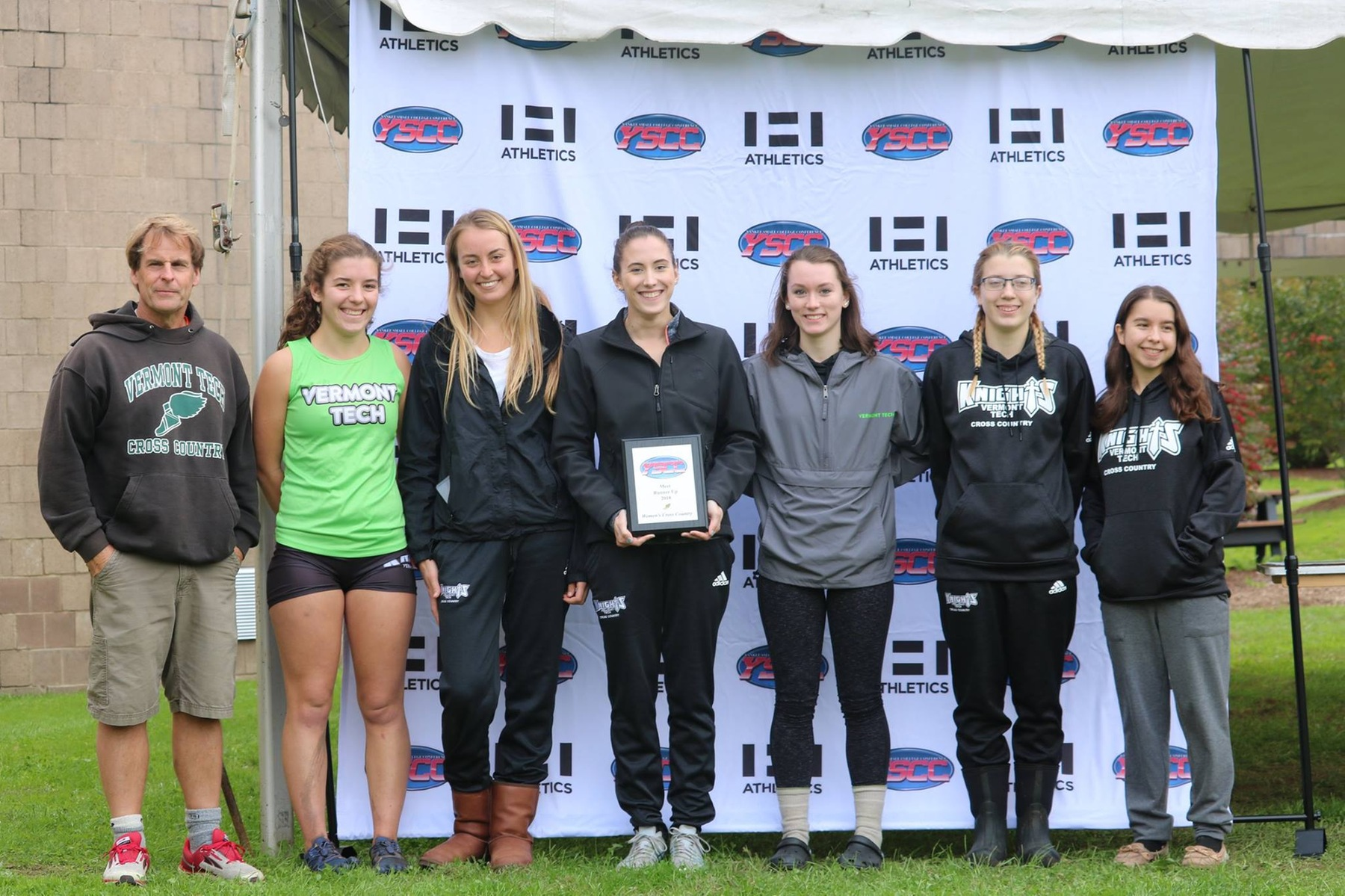 Women's Cross Country takes second at YSCC Championships