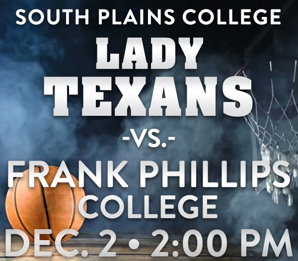 No. 16 Lady Texans host 8-1 Frank Phillips College 2 p.m. Saturday at the Texan Dome